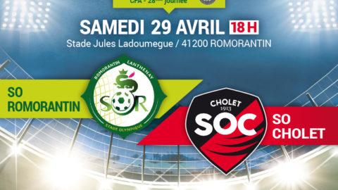 Le Match en Live : Romorantin – SOC A