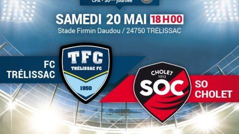 Le Match : Trélissac – SOC A