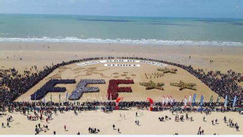 Les U9 du SOC sur la plage !