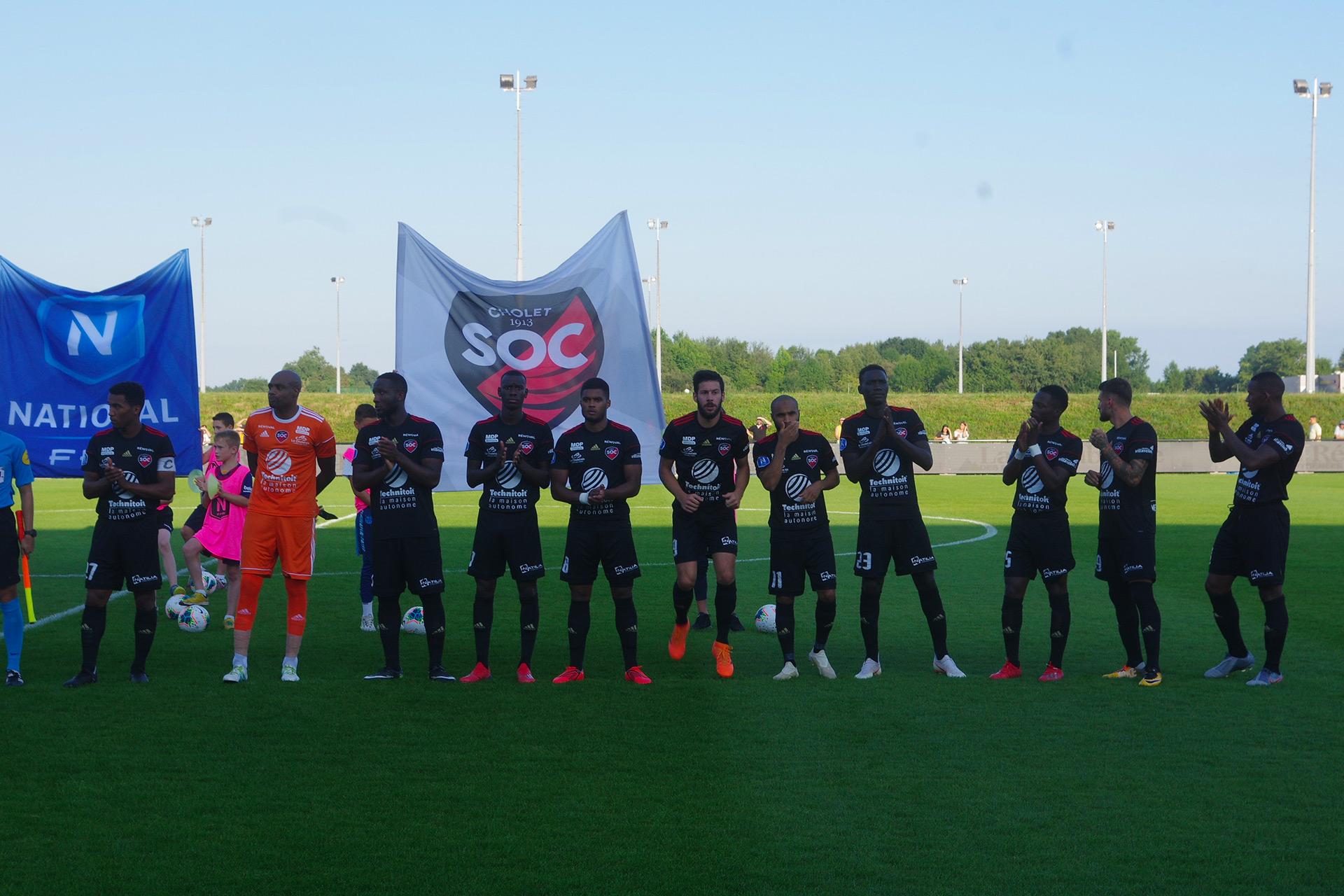 Photo équipe - Début match VS Pau