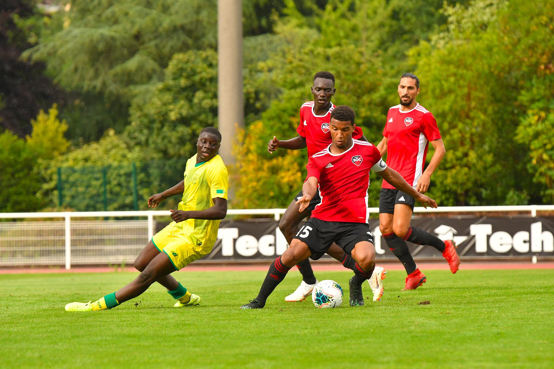 match SOC - FC Nantes B
