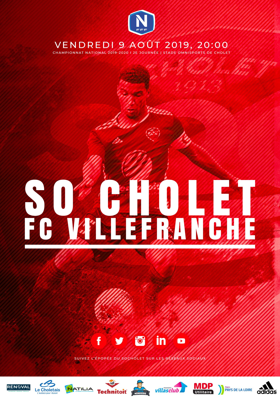 Affiche SO Cholet Villefranche