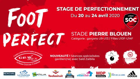 Stage Foot Perfect Printemps 2020 !