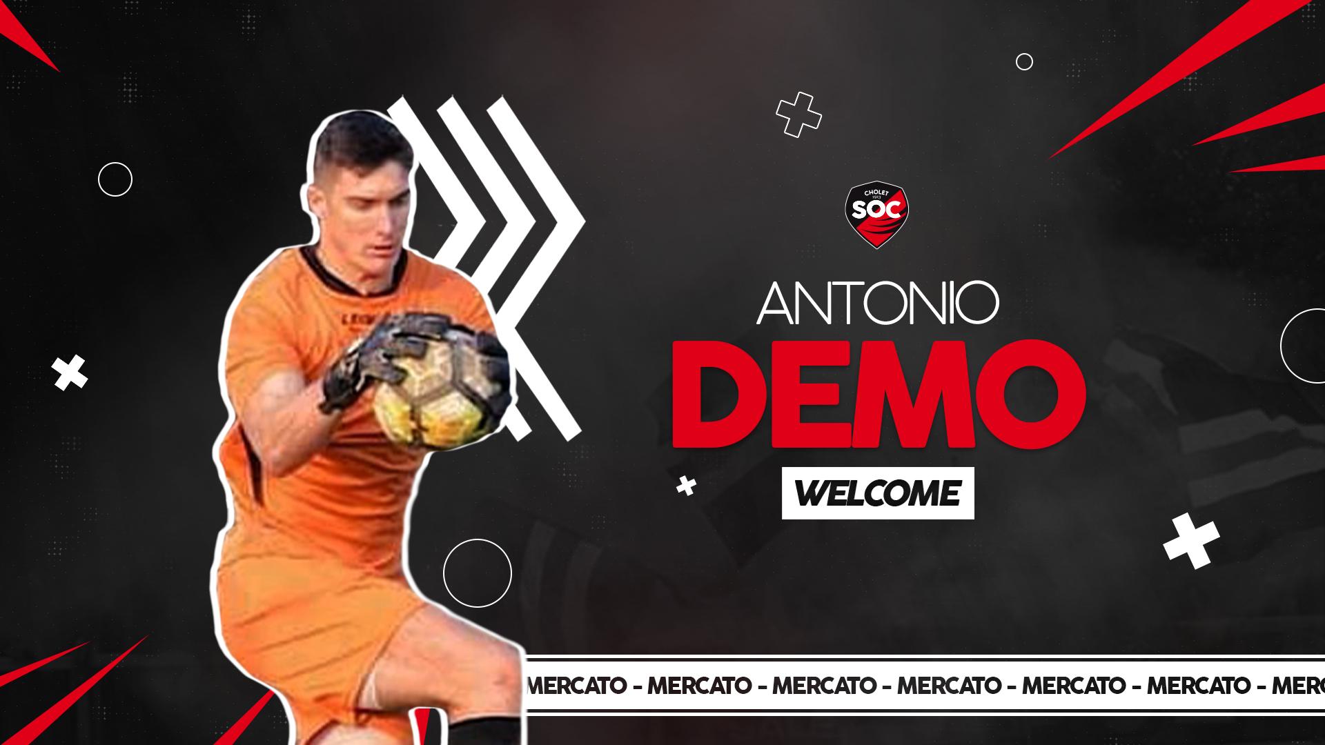 Antonio Demo Recrue