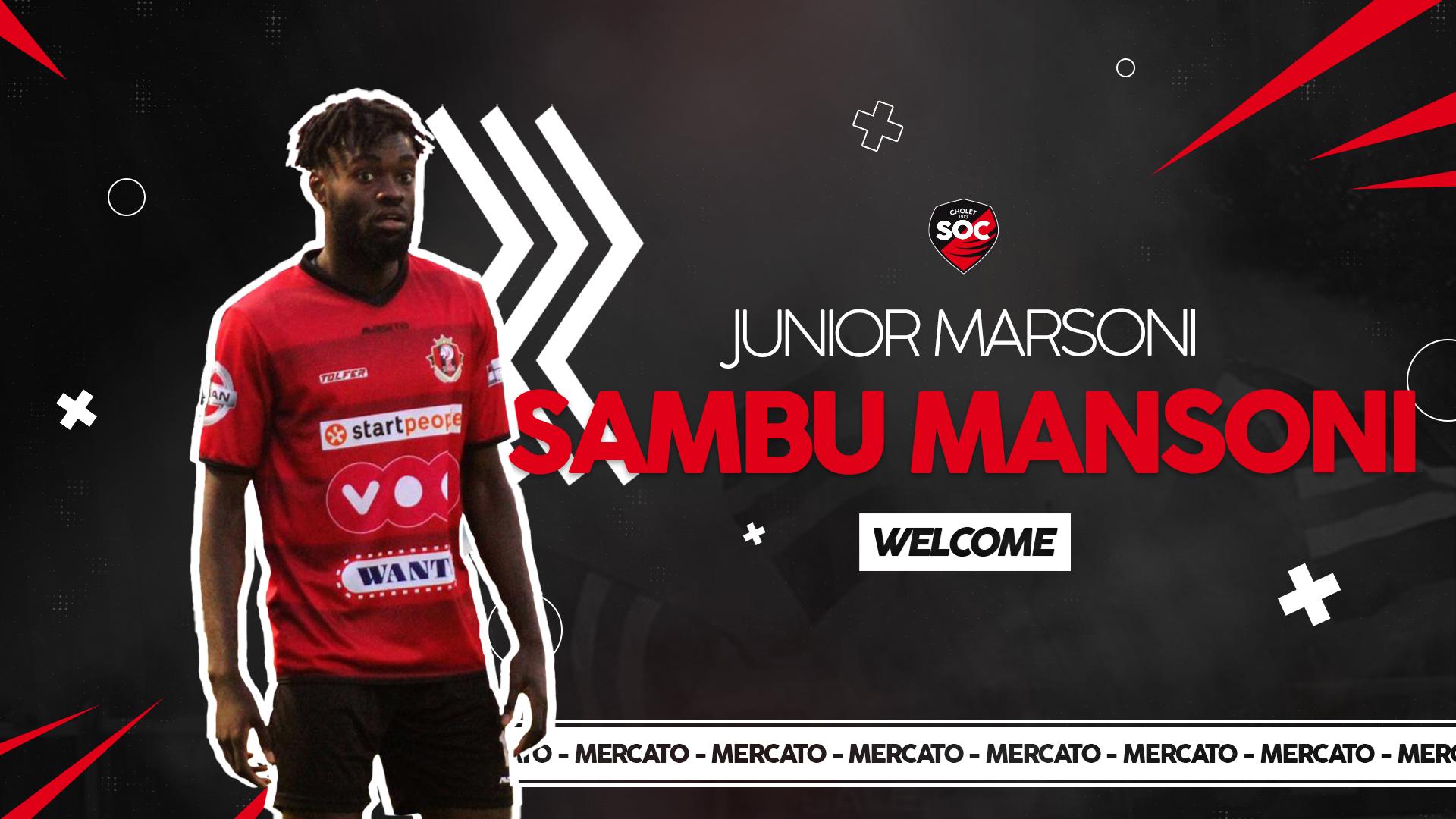 Junior Marsoni Sambu Mansoni Recrue