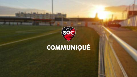 Communiqué du club : départ de Stéphane Rossi en fin de saison