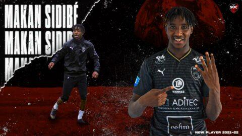 Makan Sidibé (Vannes OC) signe au SO Cholet !
