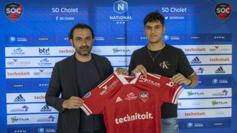 Emyl Leclercq (Chamois Niortais FC) s'engage au SO Cholet !
