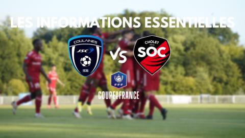 JS Coulaines – SO Cholet (Coupe de France) : Les informations essentielles